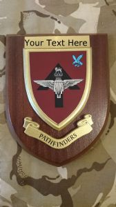Pathfinders Personalised Military Wall Plaque New Style